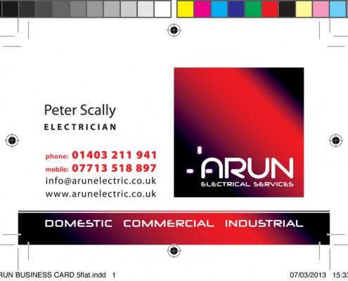 Arun Business Card