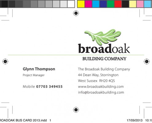 Broadoak Business Card